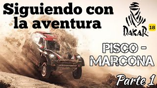 Dakar 18 - Pisco Marcona 1/2   Corriendo con cabeza
