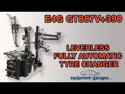 Leverless Tyre Changer - E4G GT887V+390