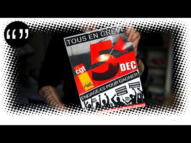Usul et Rémi Liechti. 5 décembre: enfin la grève générale