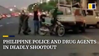 Śmiertelna strzelanina z udziałem tajniaków i agentów antynarkotykowych na Filipinach