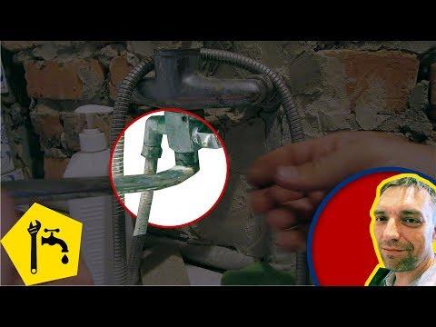 ✅ Ремонт смесителя душа в ванной -  КРЕПЛЕНИЕ ГУСАКА / Ремонт сантехники