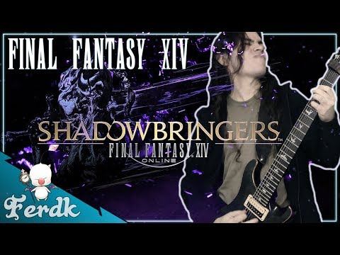 """SHADOWBRINGERS: FINAL FANTASY XIV - """"Insatiable (Dungeon Boss)""""【Symphonic Metal Cover】 by Ferdk"""