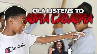 OLA LISTENS TO Abra Cadabra - Art Of War | GRM Daily