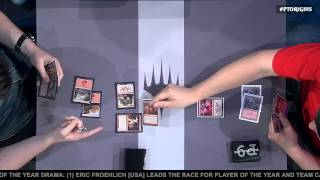 Pro Tour Magic Origins Quarterfinals (Standard): Joel Larsson vs. Stephen Neal