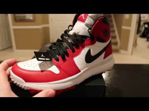 1dd4c392e56a Jordan 3 White Cement golf shoes. YouTube s first official - GOLFsty.com