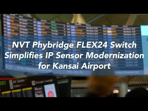 Kansai International Airport Uses FLEX to Deploy IP Sensors