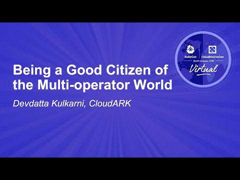 Image thumbnail for talk Being a Good Citizen of the Multi-operator World