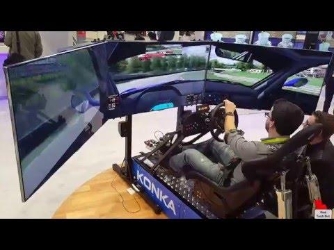 Motion Pro 2 CXC Racing Simulator at CES 2016
