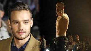 Liam Payne Goes SHIRTLESS In
