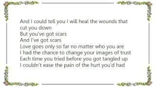Chely Wright - Scars Home Studio Demo Lyrics
