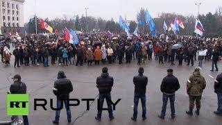 Ukraine's Odessa joins massive pro-Russian rallies across Southeast