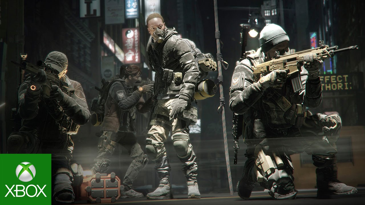 Video forBattling Through The Division's Apocalyptic Winter Wonderland