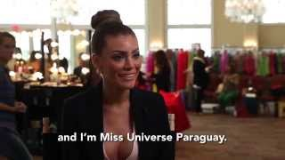 Sally Jara Davalos Paraguay Miss Universe 2014 Official Interview