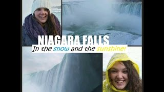 My Canadian Exchange | Niagara Falls in Winter and Spring