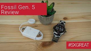 Fossil Gen. 5 Smartwatch - Ganz schön viel Technik fürs Handgelenk | #sxgreat