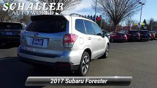 Used 2017 Subaru Forester Premium, Berlin, CT S15194A
