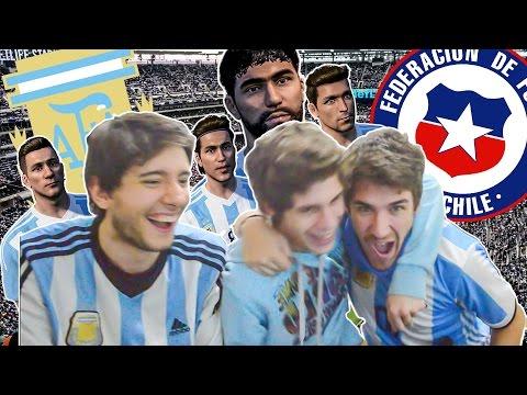 ARGENTINA vs CHILE | FINAL Copa America 2016 | PES 2016 | Previa