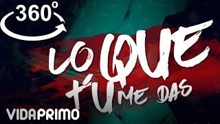 Lo Que Tu Me Das (Vídeo Letra) - Thomaz (Video)