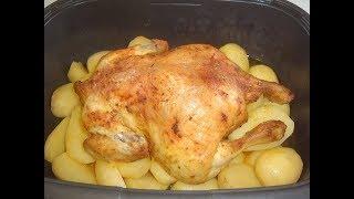 Курица с картошкой на обед