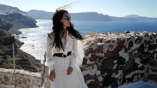 Santorini Vlog - Travel During Covid-19   Tamara Kalinic