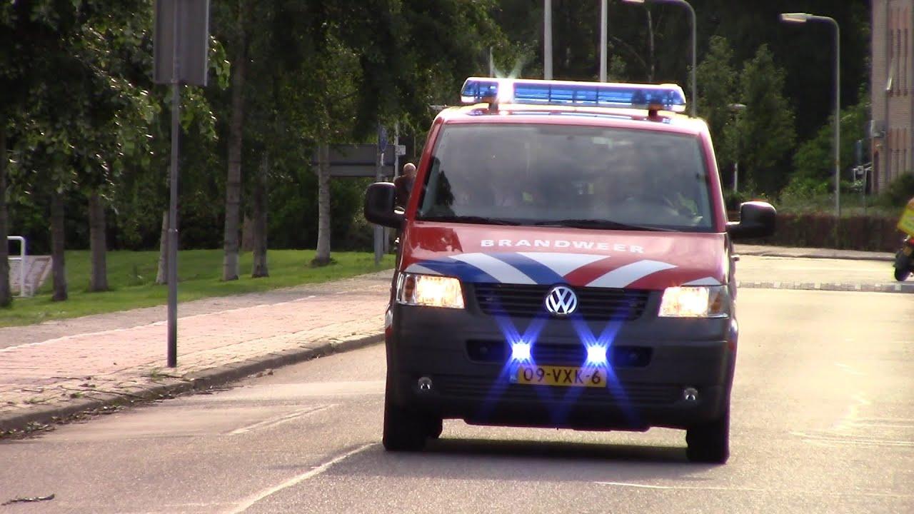 Brandweer Hollands-Midden met spoed naar een zeer grote brand Staringlaan Waddinxveen