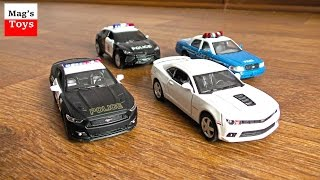 Police Chase Compilation | Toy Cars Video For Kids