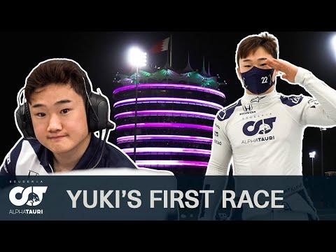 角田裕毅がF1デビュー戦に挑んんだ舞台裏を大公開した貴重映像