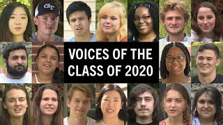 Voices of the Class of 2020