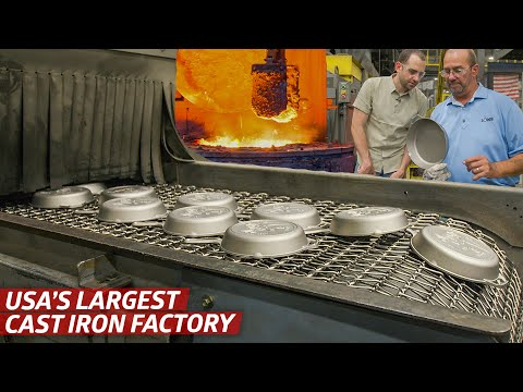 How Cast Iron Pans Are Made