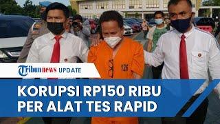 Kadinkes Riau Ditangkap Diduga Korupsi 3.000 Alat Rapid Test, Dijual di Klinik Pribadinya Rp150 Ribu