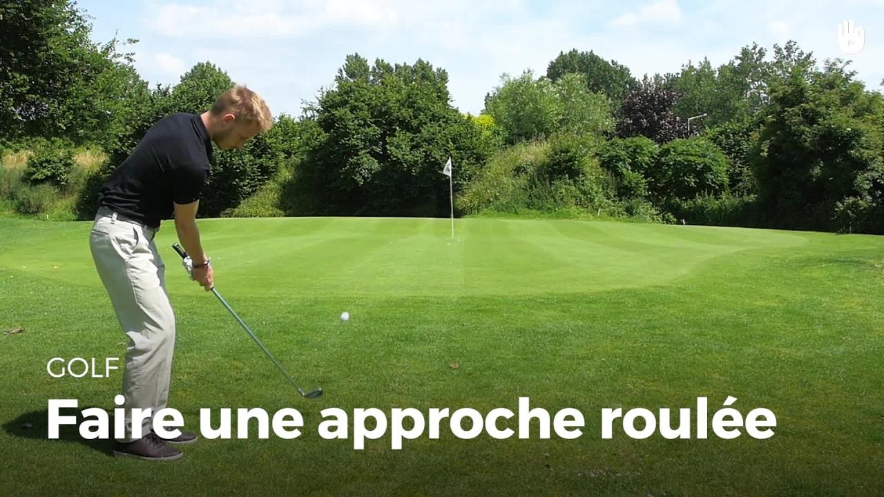 Apprendre faire une approche roul e d buter au golf avec les fondamentaux sikana - Apprendre a faire la cuisine ...