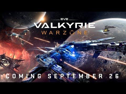EVE: Valkyrie - Warzone | Announce Trailer thumbnail