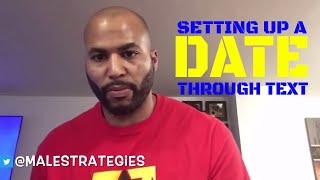 Setting Up A Date Through Texting (Alpha Male Strategies)