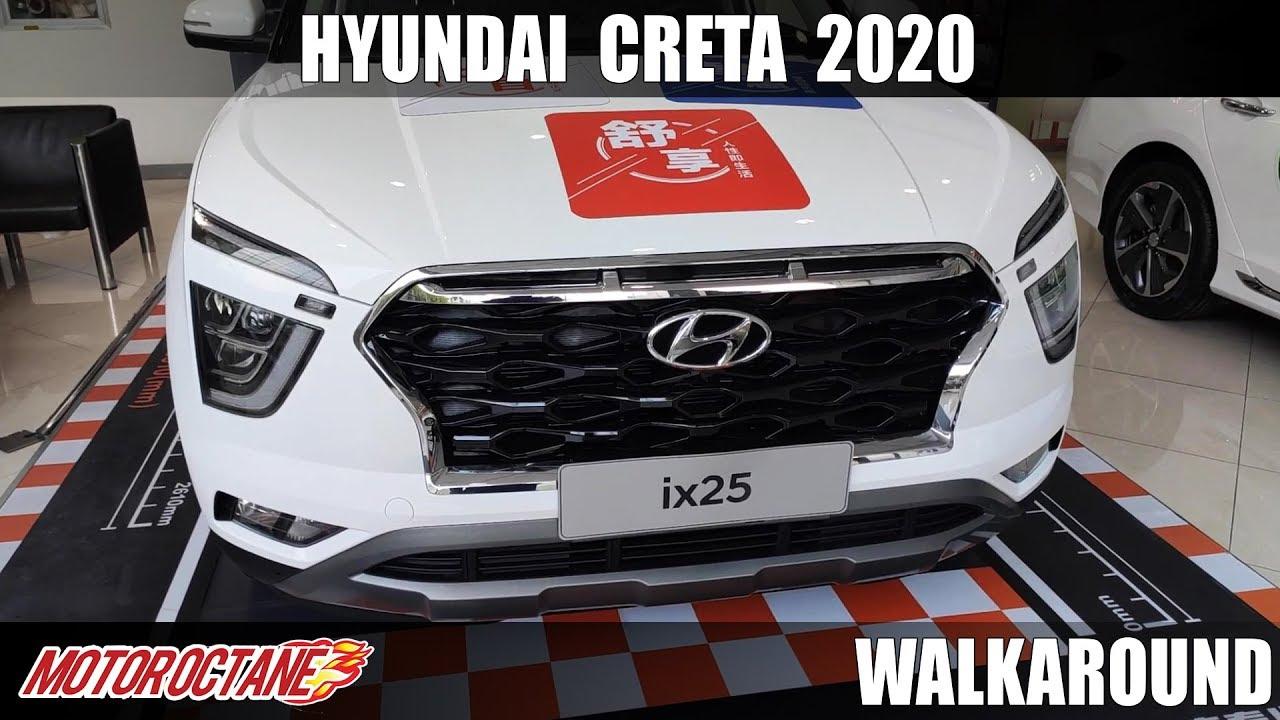 Motoroctane Youtube Video - Hyundai Creta 2020 Walkaround - DETAILED