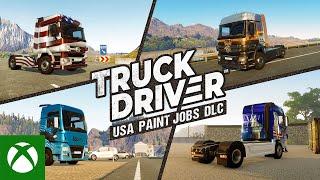 Xbox Truck Driver - USA Paint Jobs DLC Trailer anuncio