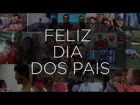 Leitores enviam fotos para homenagear Dia dos Pais; veja vídeo
