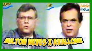Briga Milton Neves x Avallone - Mesa Redonda 1997 - vídeo completo e em cores