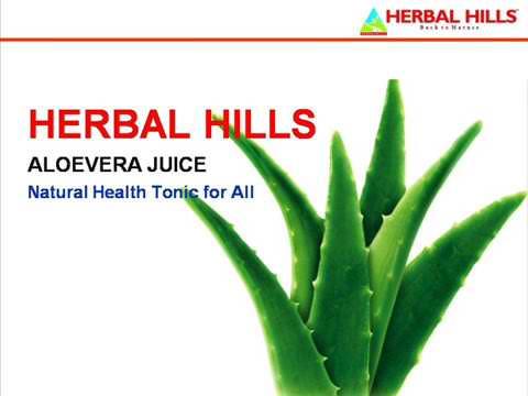Aloe Vera Herbal Health Juice - for Healthy Digestion