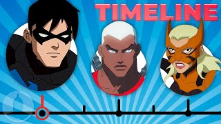 The Complete Young Justice Timeline | Channel Frederator
