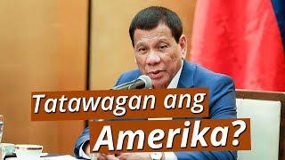 UB: Pres. Duterte, hihingi na raw ng tulong sa Amerika para sugurin ang China