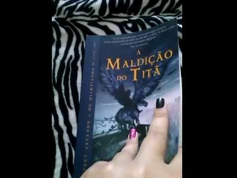 Review Livro a maldi��o do tit� -edi intr�nseca