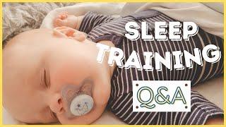 BABY SLEEP TRAINING AT 7 MONTHS | Ferber Method vs Extinction Explained