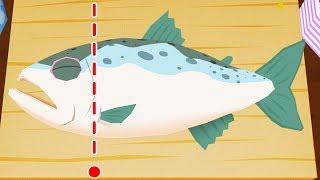 Làm Sushi Cá Và Sushi Cuộn Nhật Bản – Game Nấu Ăn Vui Nhộn