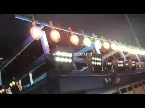 Bộ đèn pha chiếu sáng mạn tàu
