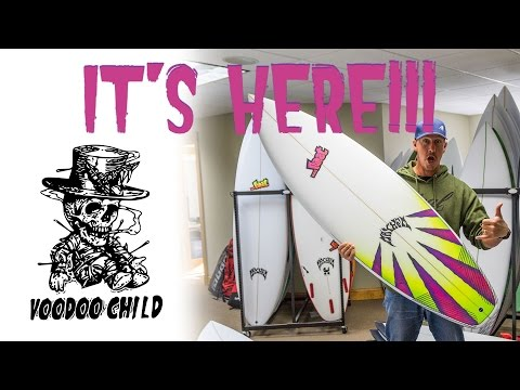 …Lost Voodoo Child Surfboard First Look