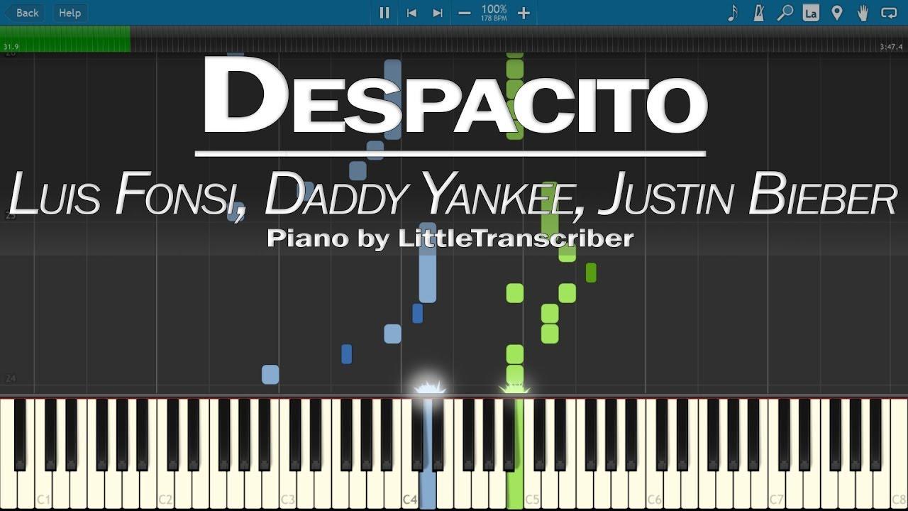 EASY Piano Tutorial by PlutaX dan kasetnya di Toko Terdekat Maupun di  iTunes atau Amazon download lagu mp3 Download Mp3 Despacito Piano