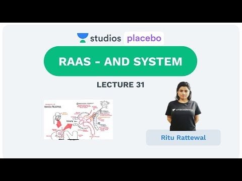 L31: RAAS - ANS System | Human Physiology (Pre-Medical-NEET/AIIMS) | Ritu Rattewal