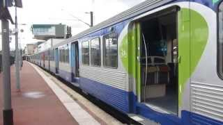 preview picture of video '[Paris] BB17000+RIB TRIA - Pontoise (Ligne H Transilien)'