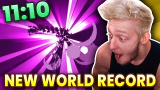 Reacting to New Minecraft WORLD RECORD (11:10)