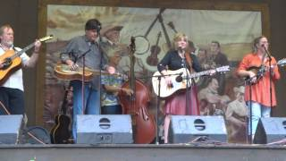 """I'm Not Lisa""...  Valerie Smith @ Wind Gap Bluegrass Festival 2015"